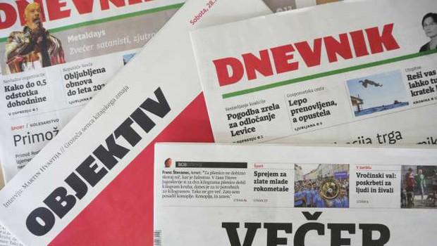 Založniki tiskanih medijev vladi poslali predlog za pomoč (foto: STA)