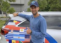 Novak Đoković se je zahvalil družini Sportklub, ki ga sledi po svetu