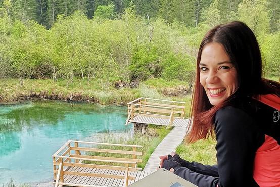 Odlične ideje za izlet Mance Korelc, ki je s kolesom obiskala več kot 1000 slovenskih jezer