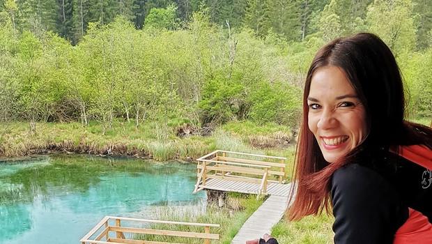 Odlične ideje za izlet Mance Korelc, ki je s kolesom obiskala več kot 1000 slovenskih jezer (foto: Moja jezera)