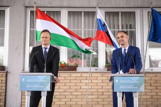 Slovenija in Madžarska odpravili omejitev prehajanja meje