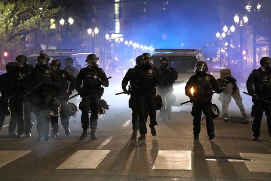 Protesti zaradi policijskega nasilja se iz Minneapolisa širijo po ZDA