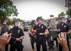 Množičnim protestom proti policijskemu nasilju v ZDA ni videti konca