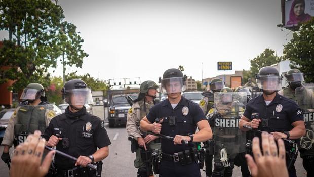 Množičnim protestom proti policijskemu nasilju v ZDA ni videti konca (foto: profimedia)