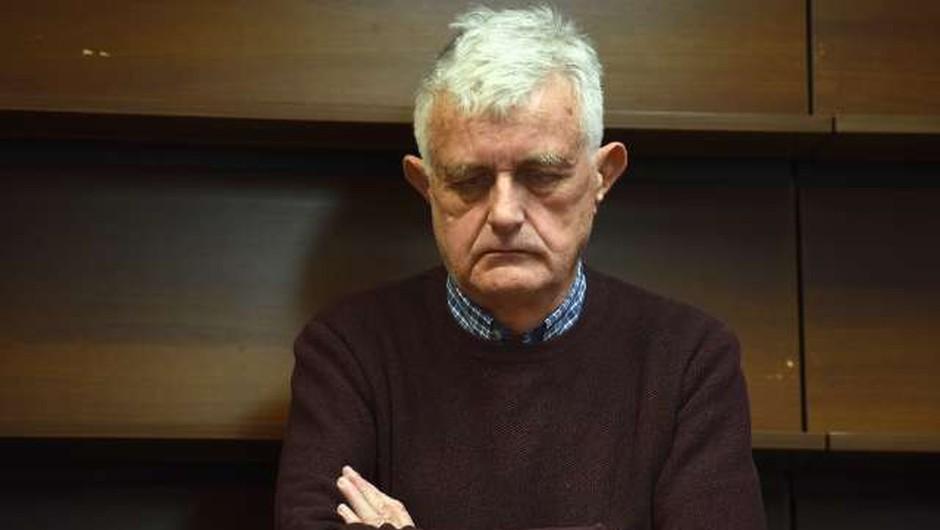 """Pavel Gantar: """"Prav režal sem se, ko so v protikoronski zakon uvrstili člene od 100.a do 100.h!"""" (foto: Tamino Petelinšek/STA)"""