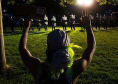 Zakaj so sredi najbolj silovitih protestov ugasnile luči v Beli hiši?