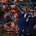 Susan Boyle in Michael Ball. Nastop v oddaji Britanija ima talent, 2019. (foto: Profimedia)