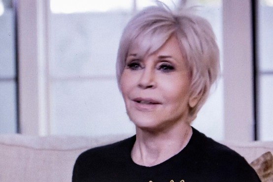 Jane Fonda kljub nevarnemu ljudskemu vrenju v ZDA vidi upanje!