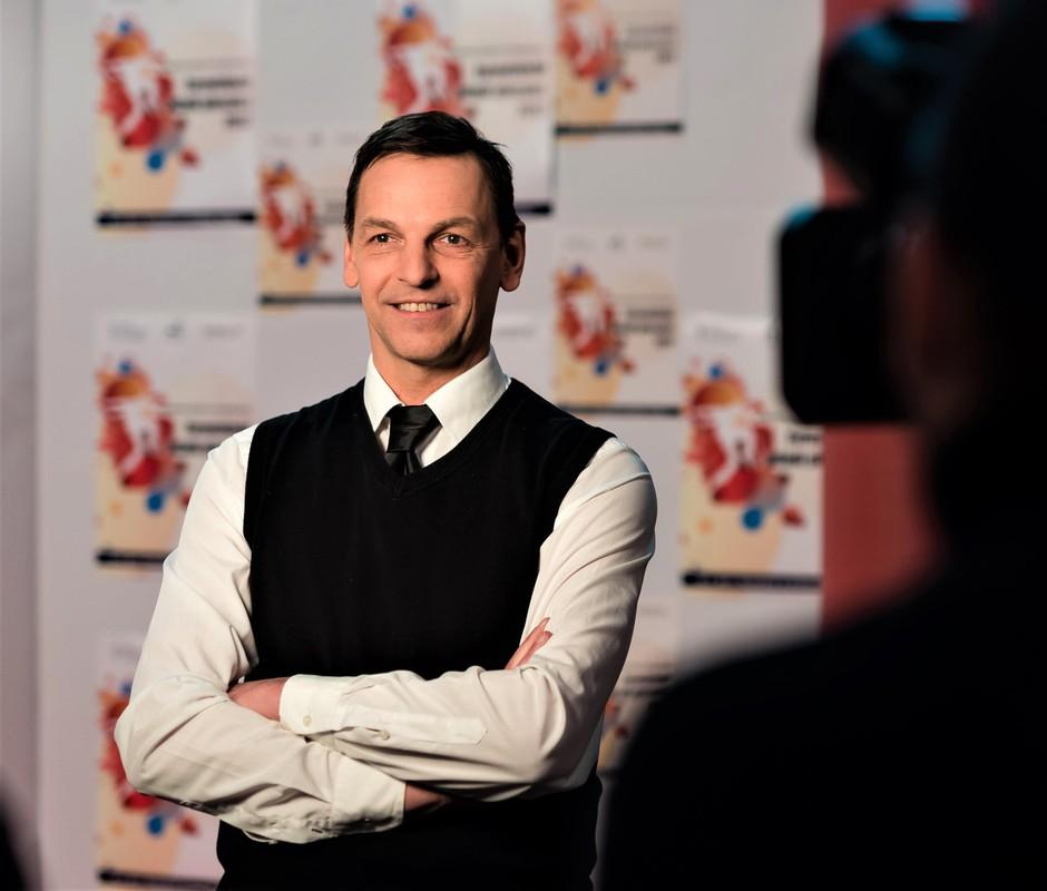 """Tomaž Rode: """"Prepričan sem, da bodo televizijski gledalci čutili energijo na odru."""" (foto: Tomaž Rode/osebni arhiv)"""