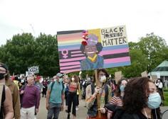 Protesti proti policijskemu nasilju tudi v Londonu