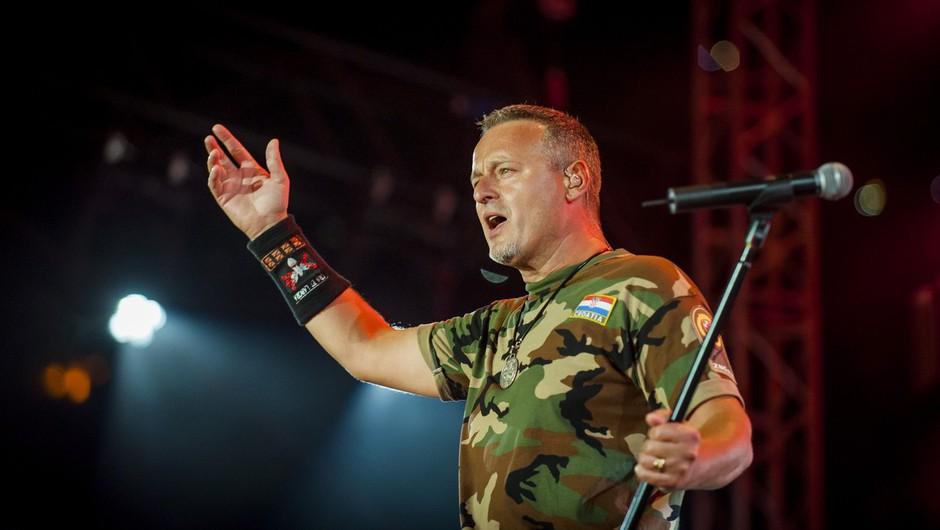 Sporni proustaški pevec Marko Perković Thompson bo lahko pel v Mariboru (foto: profimedia)