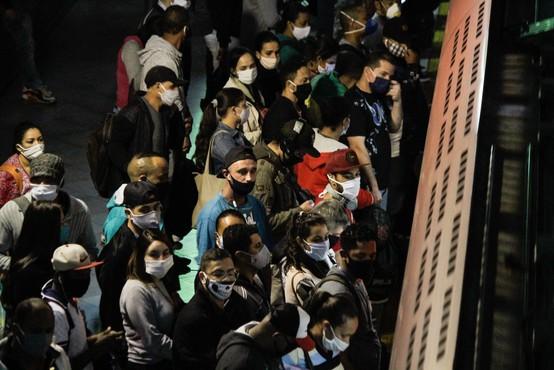 V Braziliji zaradi koronavirusa  vsako minuto ugasne najmanj eno življenje