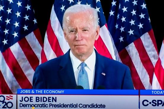 Joe Biden ima dovolj delegatskih glasov za demokratsko nominacijo za predsedniške volitve