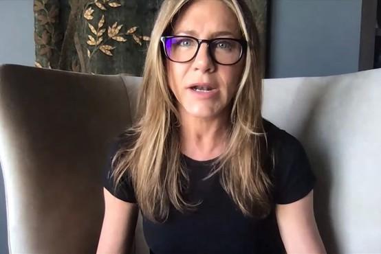 Jennifer Aniston za boj proti rasizmu primaknila milijon dolarjev