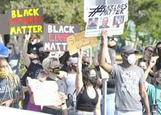 Protesti proti policijskemu nasilju v ZDA ne pojenjajo