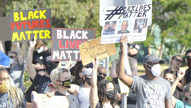 Protesti proti policijskemu nasilju v ZDA ne pojenjajo (foto: profimedia)