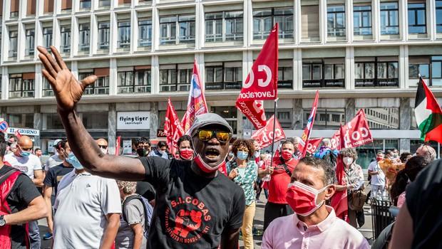 Po Evropi vse več protestov proti rasizmu (foto: Profimedia)