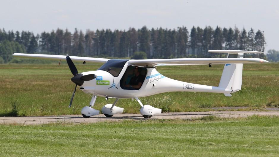 Pipistrelov Velis Electro je prvo popolnoma električno letalo na svetu (foto: Profimedia)