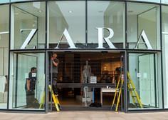 Modna veriga Zara bo po svetu zaprla med 1000 in 1200 trgovin