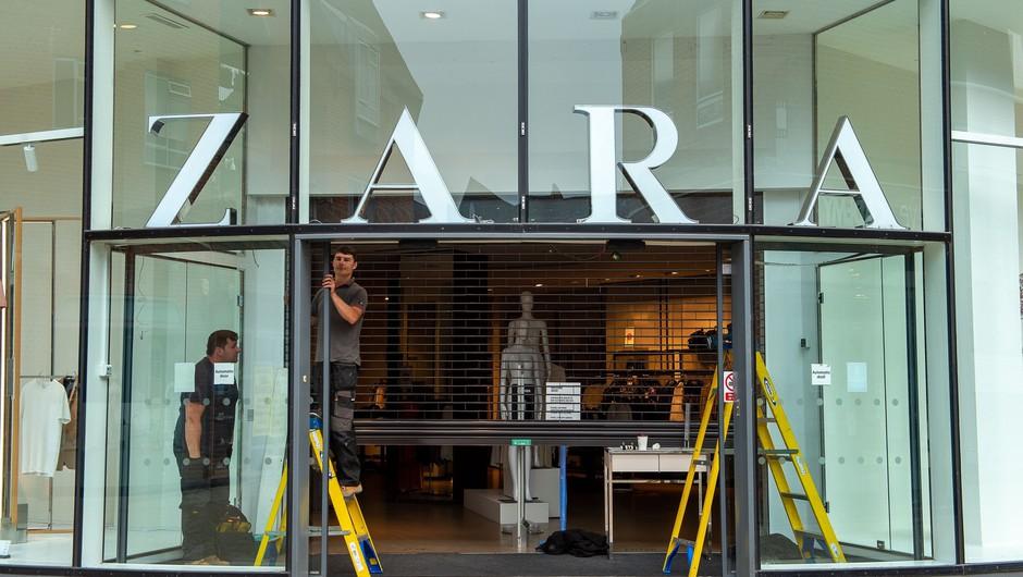 Modna veriga Zara bo po svetu zaprla med 1000 in 1200 trgovin (foto: profimedia)