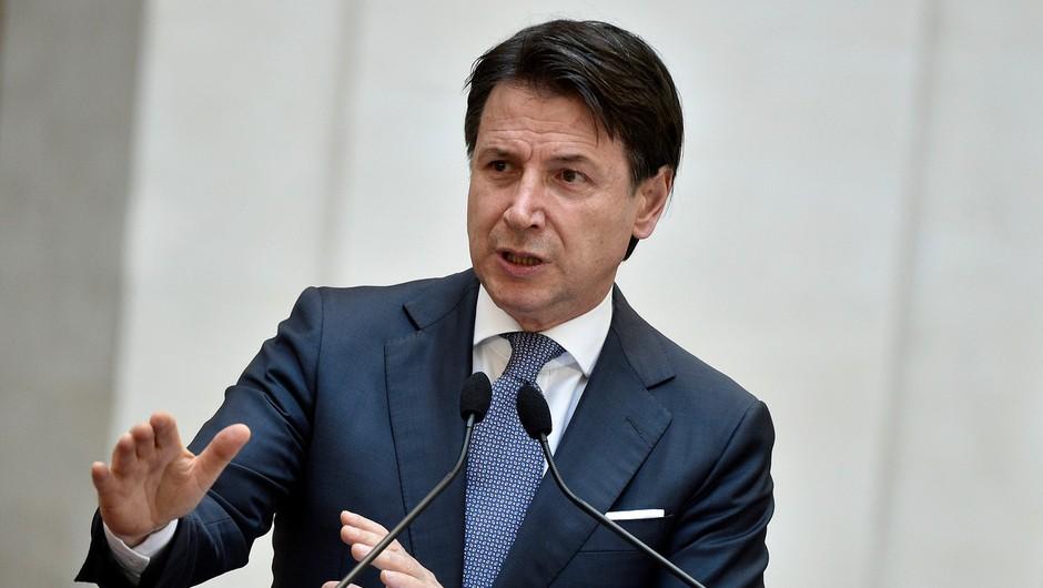 Italijanski premier Conte zaslišan v okviru preiskave zaradi visokega števila žrtev pandemije (foto: profimedia)