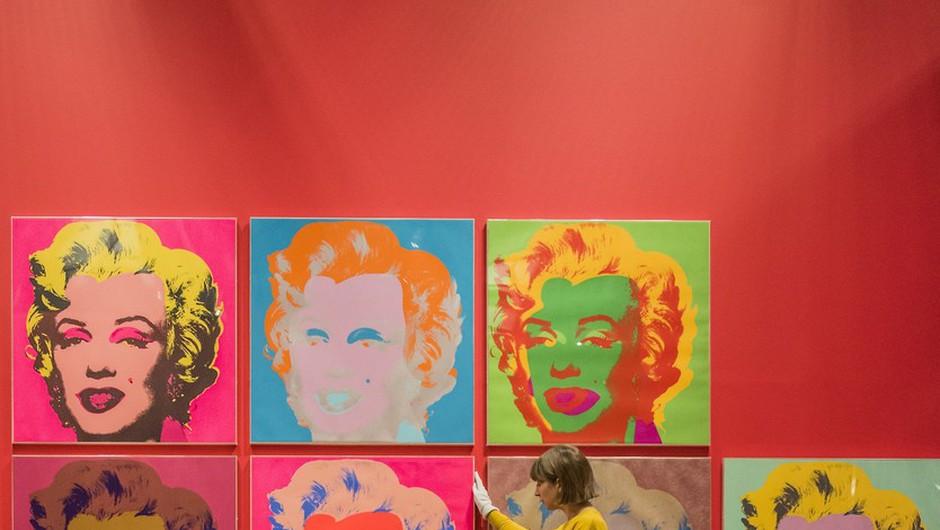 Zadnje ustvarjalno desetletje Andyja Warhola na newyorški razstavi (foto: profimedia)