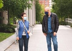 Obvezna uporaba maske je v Italiji in New Yorku občutno zmanjšala okužbe