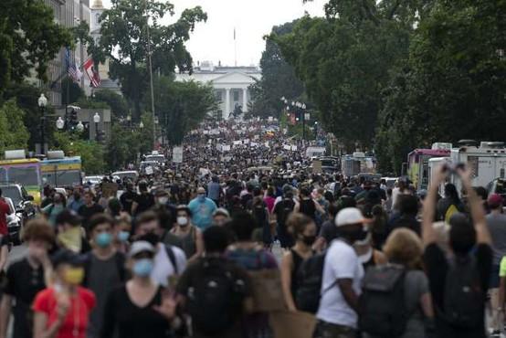 Zaradi smrti temnopoltega moškega novi protesti proti policijskemu nasilju v ZDA