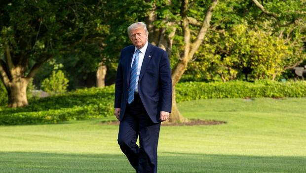 Rojstni dan Donalda Trumpa v znamenju zbadanj (in ugibanj, ali ga je kap) (foto: profimedia)