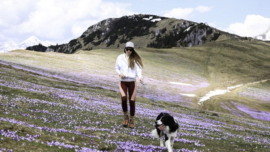 """""""Pot v gore nikakor ne sme biti nekaj nepremišljenega, varnost ni samoumevna"""" (foto: Osebni ahiv Katje Filipič)"""