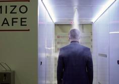 Vladimirja Putina pred koronavirusom ščiti dezinfekcijski predor
