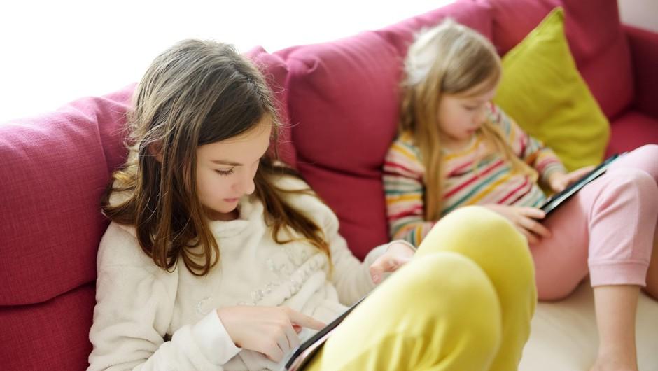 »Pretirana uporaba digitalnih tehnologij otrokom in mladostnikom škoduje!« (foto: profimedia)