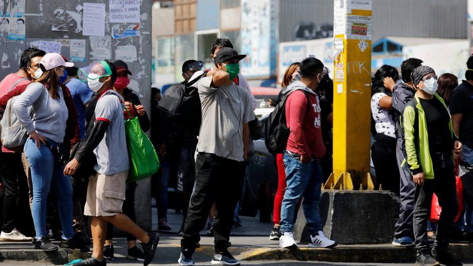 Peru po številu okuženih prehitel Italijo (foto: Profimedia)