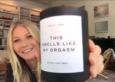 Gwyneth Paltrow ponovno šokira – tokrat s svečo, ki diši po njenem orgazmu