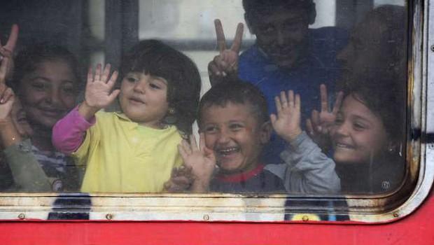 Rdeča nit letošnjega svetovnega dneva beguncev Vsako dejanje šteje (foto: STA)