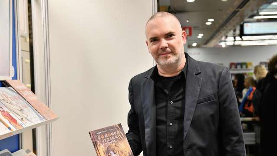 Prvo Cankarjevo nagrado za najbolj izvirno delo minulega leta dobil Sebastijan Pregelj (foto: STA/Tamino Petelinšek)