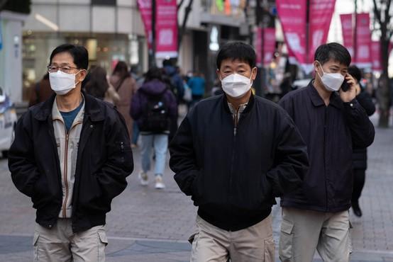 Južna Koreja v drugem valu epidemije in pred ponovno uvedbo strožjih ukrepov