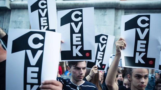 Kulturniki pozvali k bojkotu državne proslave. Janša: To je nedostojno in zavržno. (foto: Profimedia)