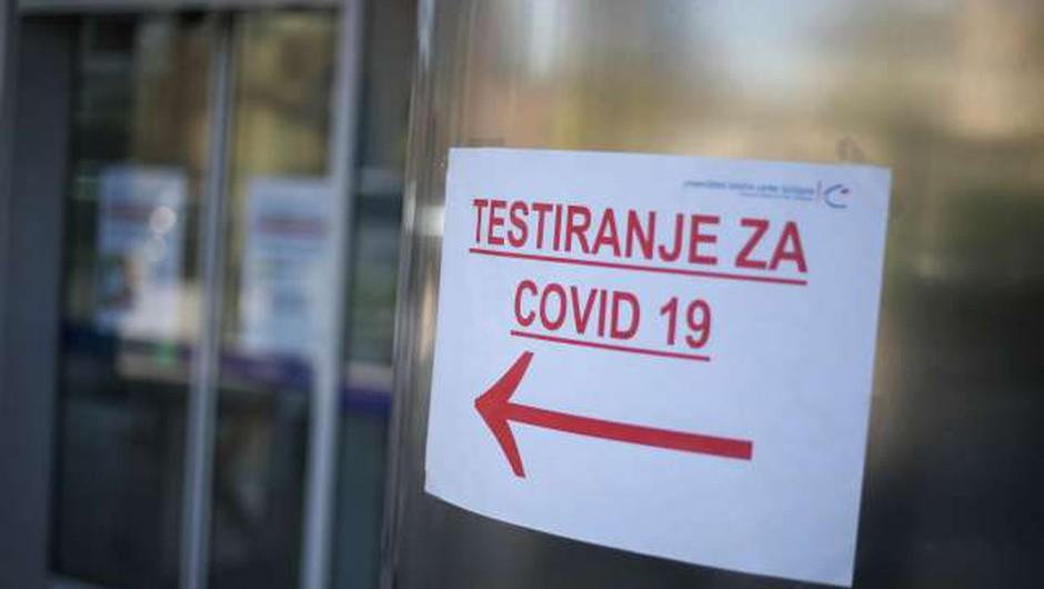 13 na novo potrjenih okužb s koronavirusom, vlada napovedala posvet s stroko (foto: Anže Malovrh/STA)