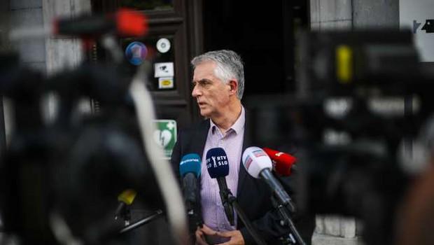 "Tomaž Gantar: ""Strah me je, da bi se situacija na Hrvaškem poslabšala!"" (foto: Anže Malovrh/STA)"