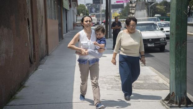 Južno Mehiko stresel močan potres, izdano opozorilo pred cunamijem (foto: profimedia)