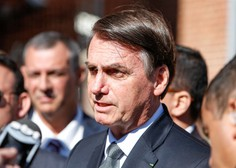 Brazilsko sodišče zapovedalo, da mora Jair Bolsonaro nositi masko