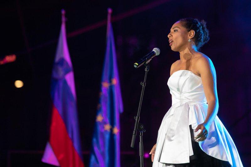 Priznana operna pevka Irena Yebuah Tiran