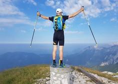 Marjan Zupančič v 7 dneh nad 600 kilometrov dolgo planinsko pot