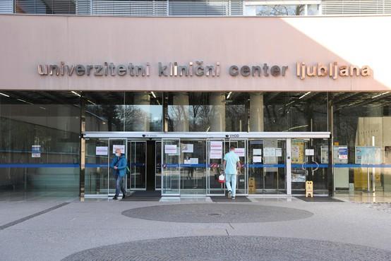 Ljubljanski UKC se pripravlja na sprejem večjega števila bolnikov s covidom-19