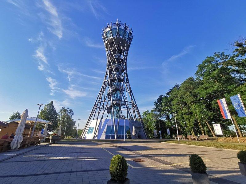 Vinarium Lendava, najvišji razgledni stolp pri nas