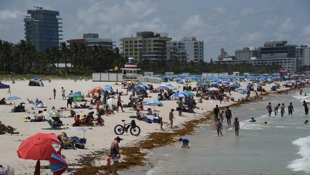 ZDA: okužba se širi predvsem po zahodu in jugu, nič bolje ni na Floridi (foto: profimedia)
