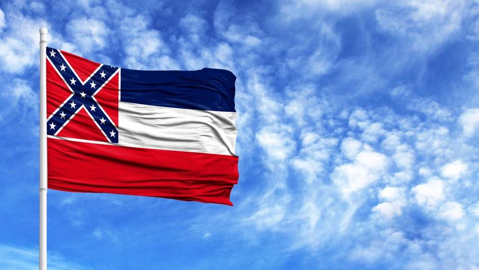 Mississippi bo kot zadnja zvezna država ZDA z zastave odstranila simbol konfederacije (foto: Profimedia)