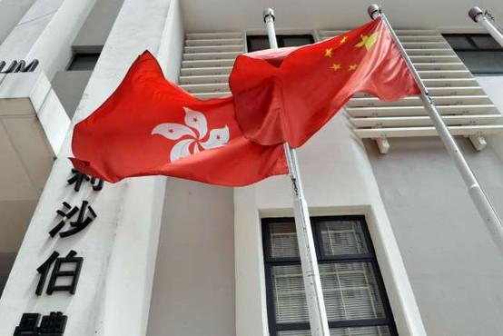 Policija v Hongkongu izvedla prvo aretacijo v okviru novega zakona o nacionalni varnosti