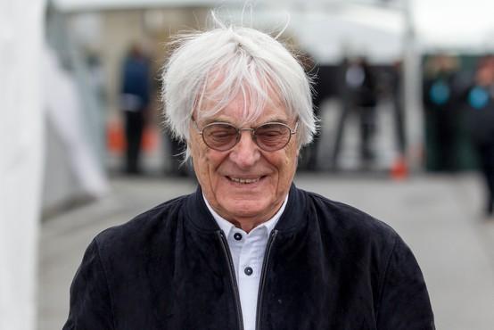 Nekoč prvi mož formule 1 Ecclestone pri 89 letih dobil prvega sina